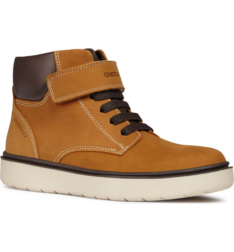 GEOX Riddock Boot, Main, color, DARK YELLOW