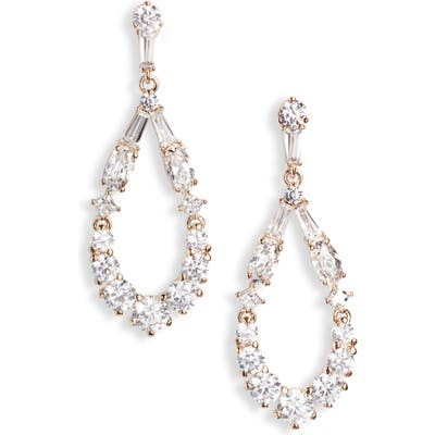 Nadri Mia Open Teardrop Earrings