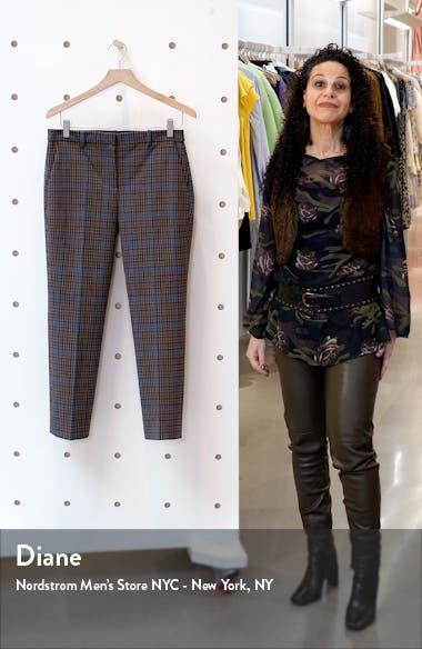 Treeca 4 Plaid Crop Pants, sales video thumbnail