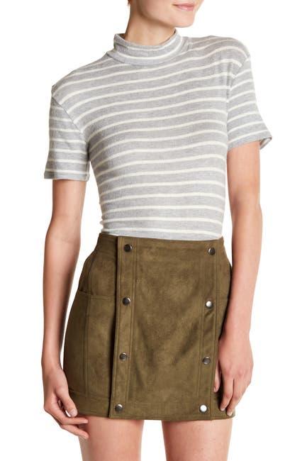 Image of Six Crisp Days Soft Mock Neck T-Shirt