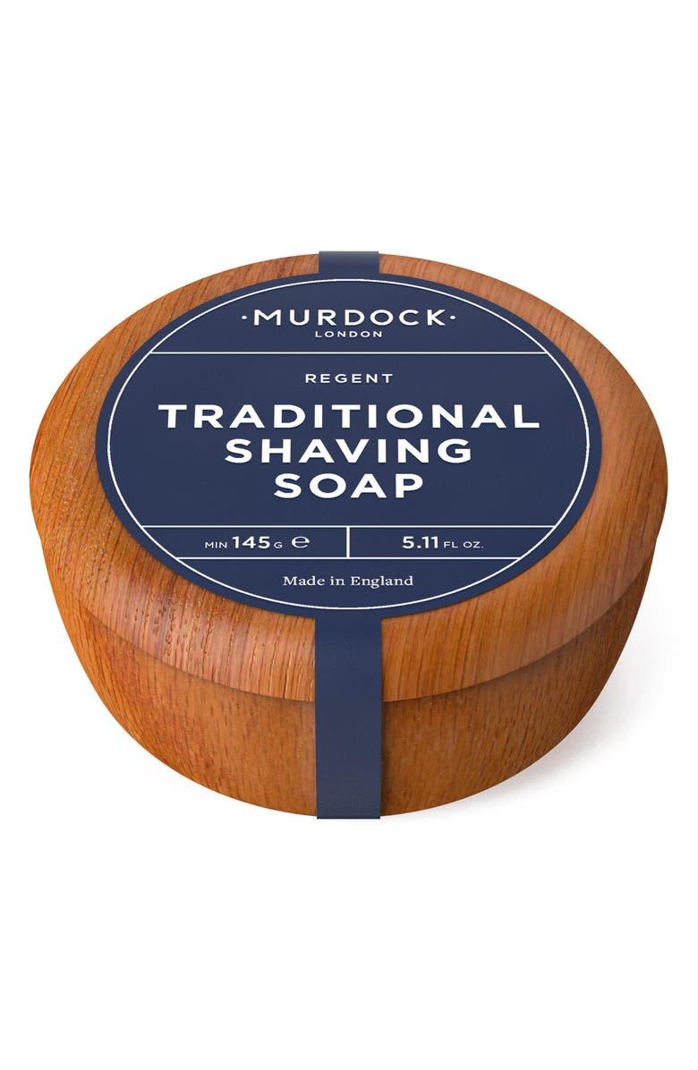 MURDOCK LONDON Traditional Shaving Soap, Main, color, NO COLOR