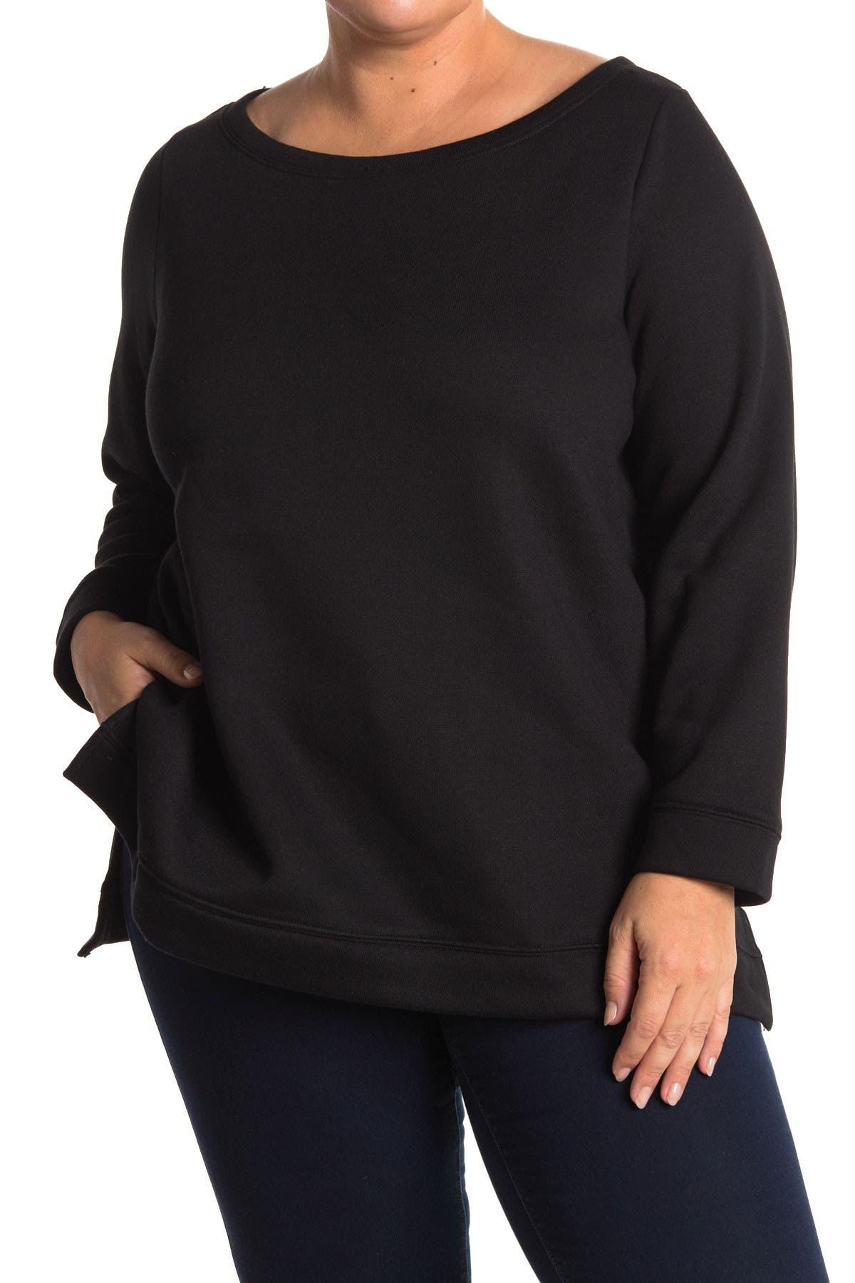 Image of Rachel Roy Shiva Boatneck Sweatshirt