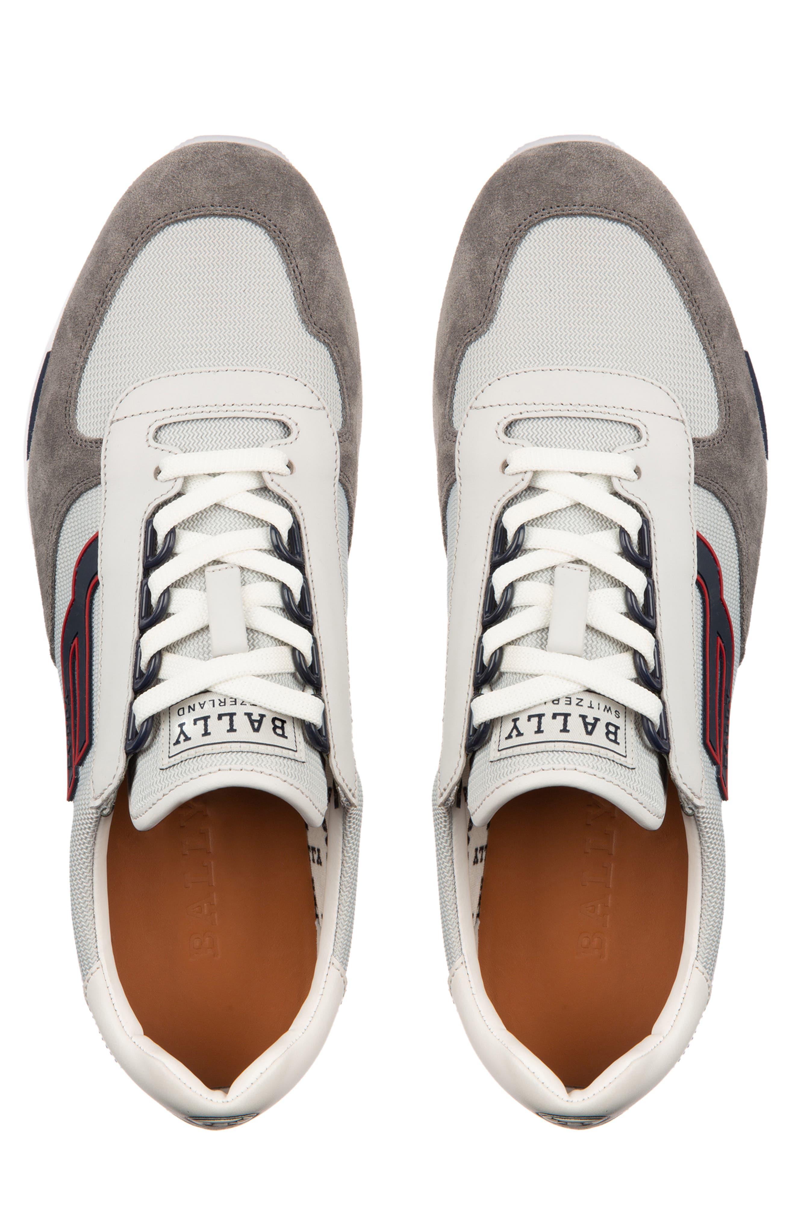,                             Gavino Low Top Sneaker,                             Alternate thumbnail 4, color,                             GREY