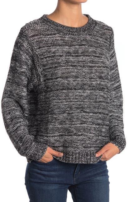Image of SUSINA Crew Neck Pullover Sweater