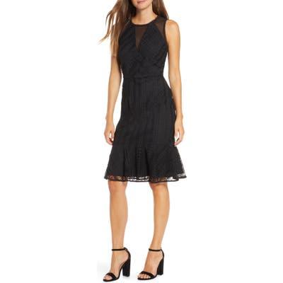 Adelyn Rae Audrey Sheath Dress, Black