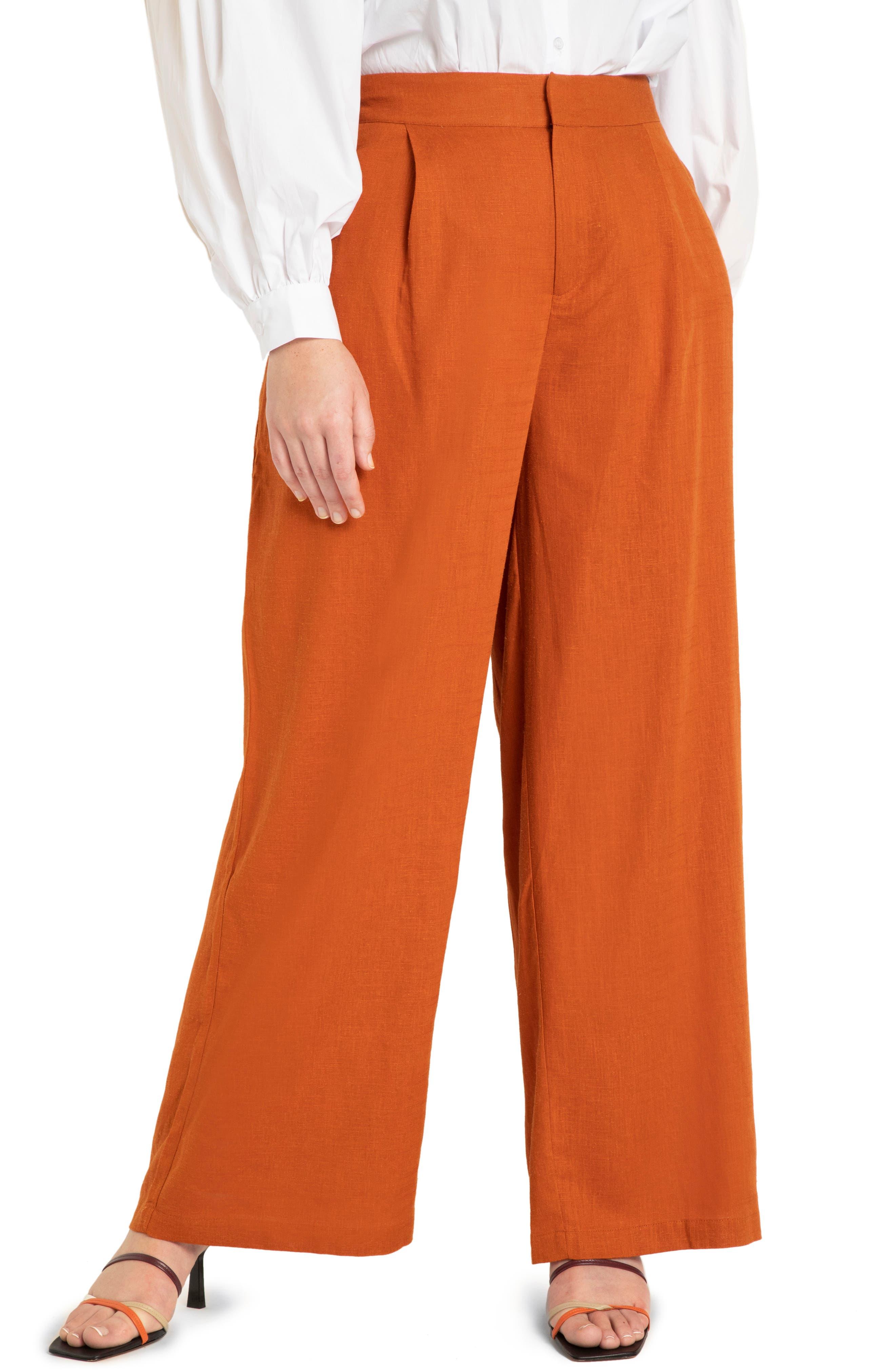 Plus Women's ELOQUII Wide-Leg Pants