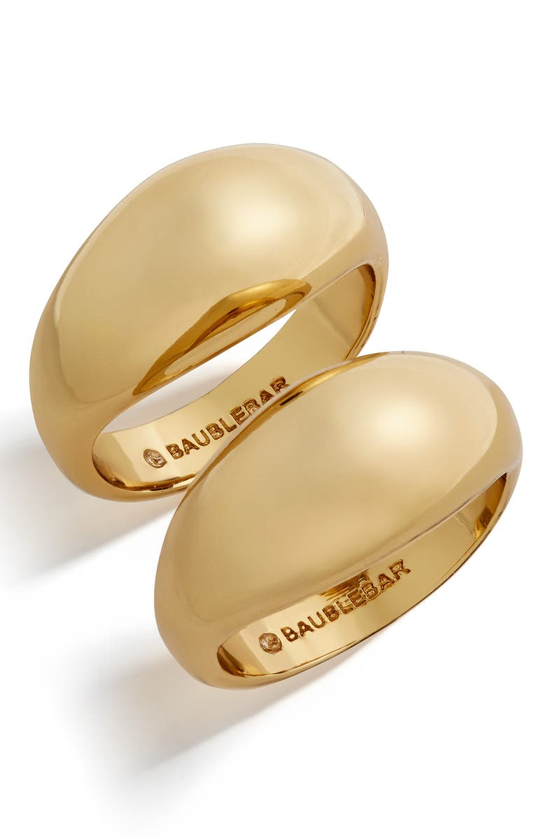 BAUBLEBAR Maro Set of 2 Rings, Main, color, 710