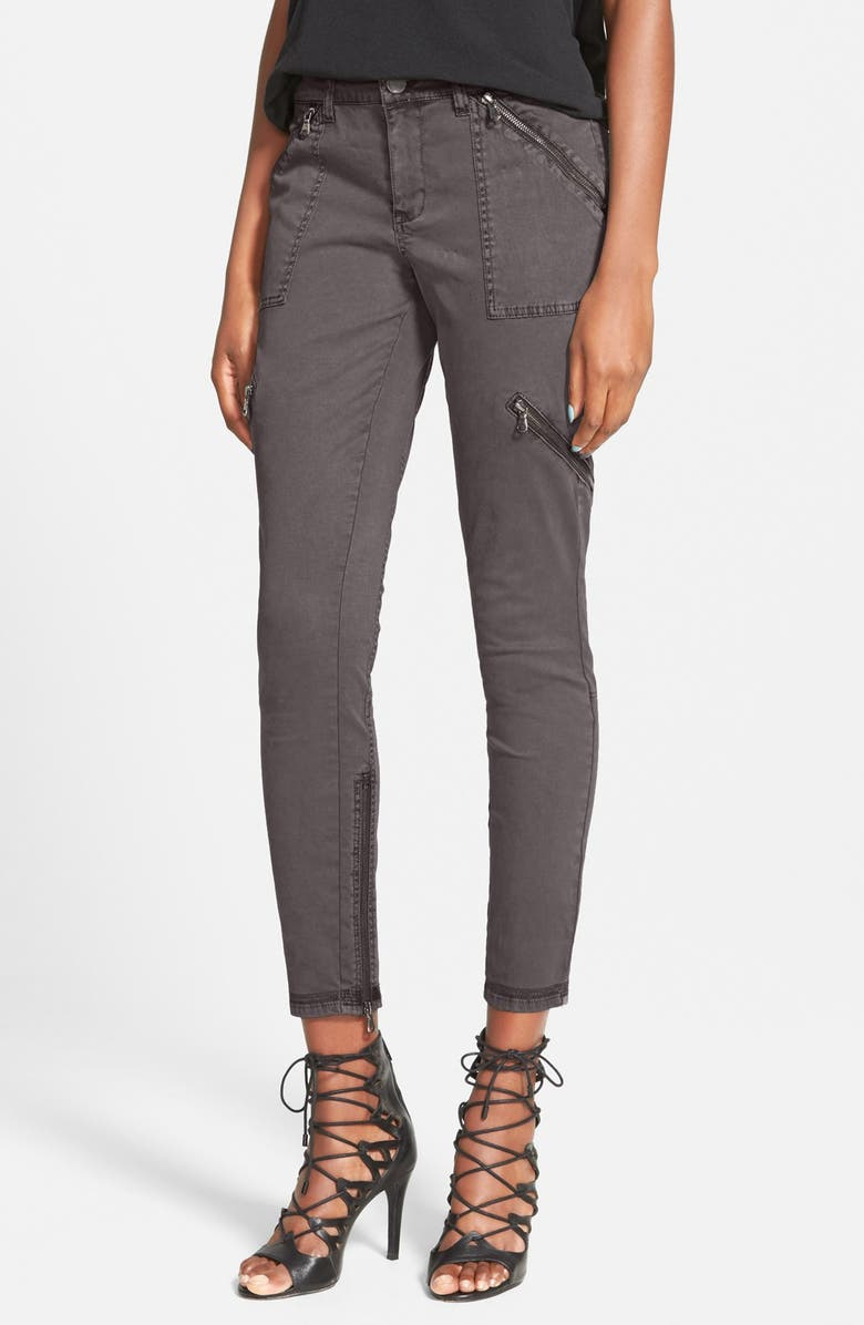 BLANKNYC Moto Utility Pants, Main, color, 020