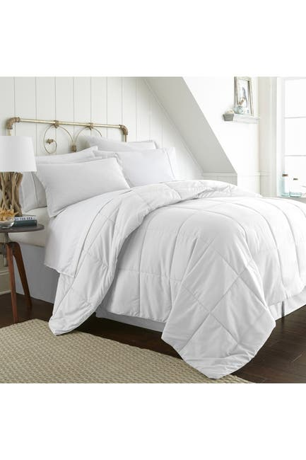 Image of IENJOY HOME Twin Premium Bed In A Bag - White
