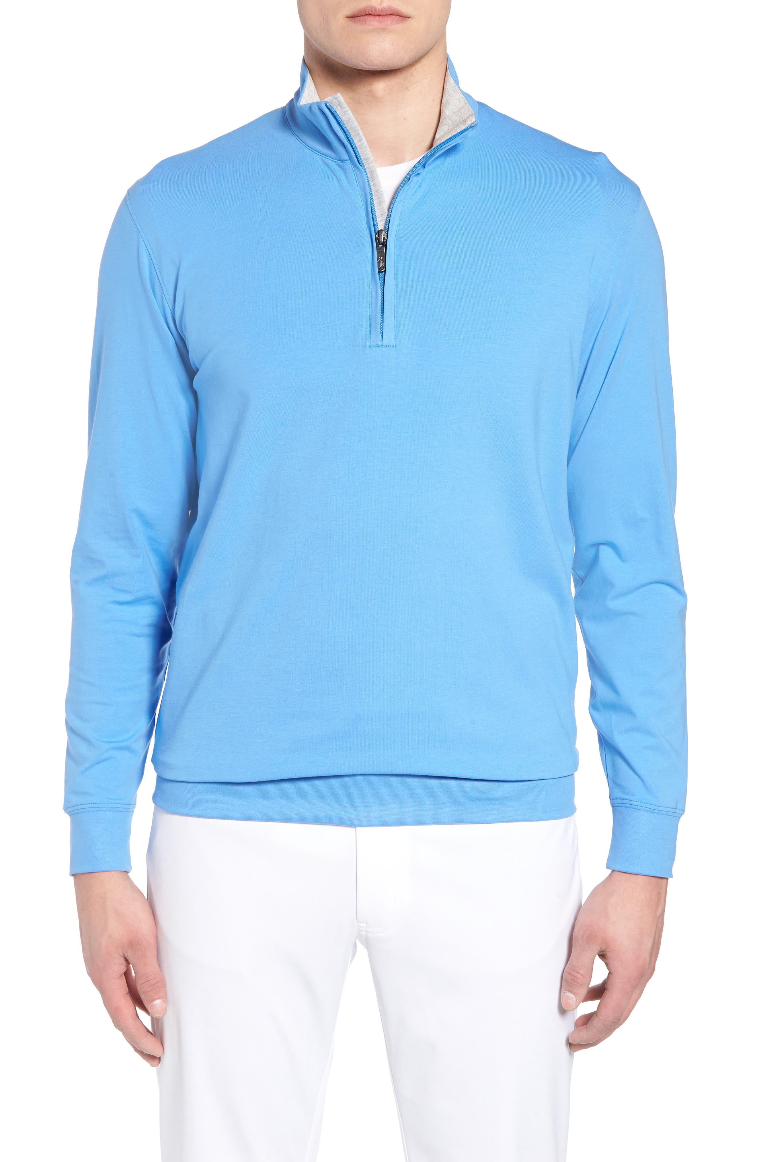,                             PTO Liquid Stretch Quarter Zip Pullover,                             Main thumbnail 13, color,                             434
