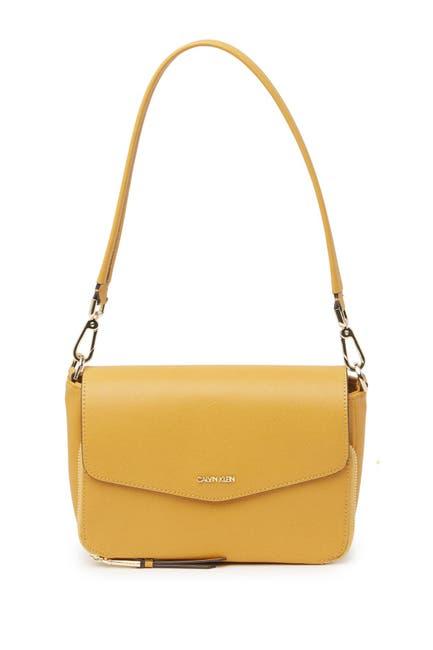 Image of Calvin Klein Ava Saffiano Shoulder Bag