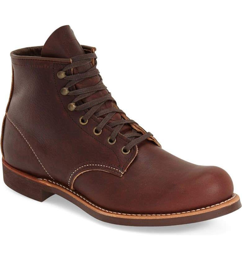 RED WING Blacksmith Boot, Main, color, BRAIR OIL SLICK LEATHER