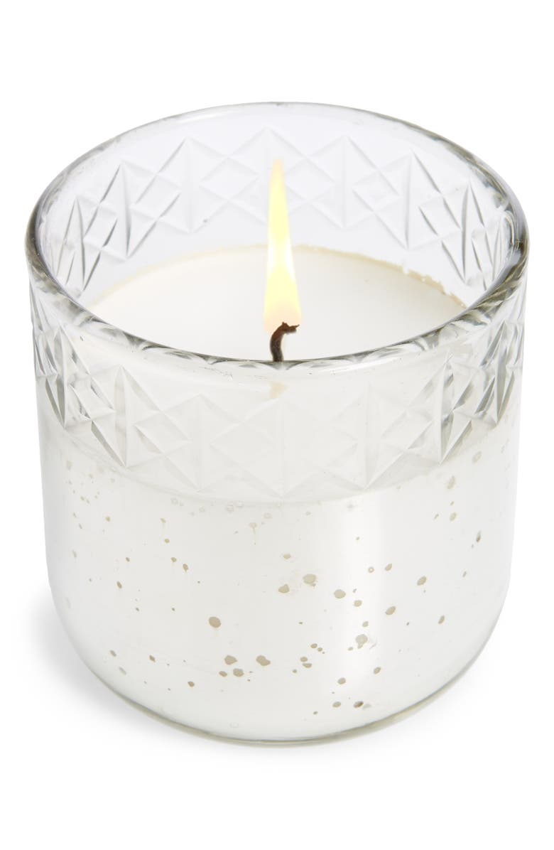 ANTHROPOLOGIE Small Visionary Candle, Main, color, JUNIPER AND SAGE