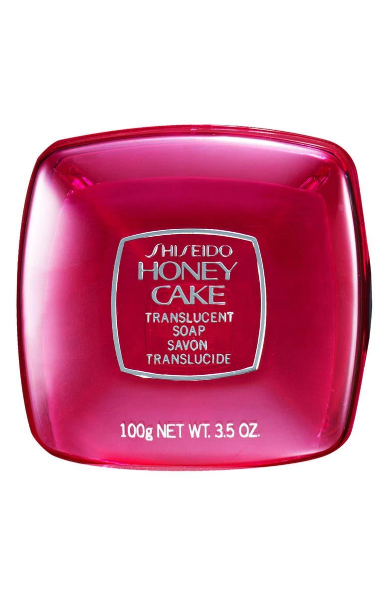 SHISEIDO 'Honey Cake' Translucent Soap, Main, color, 000