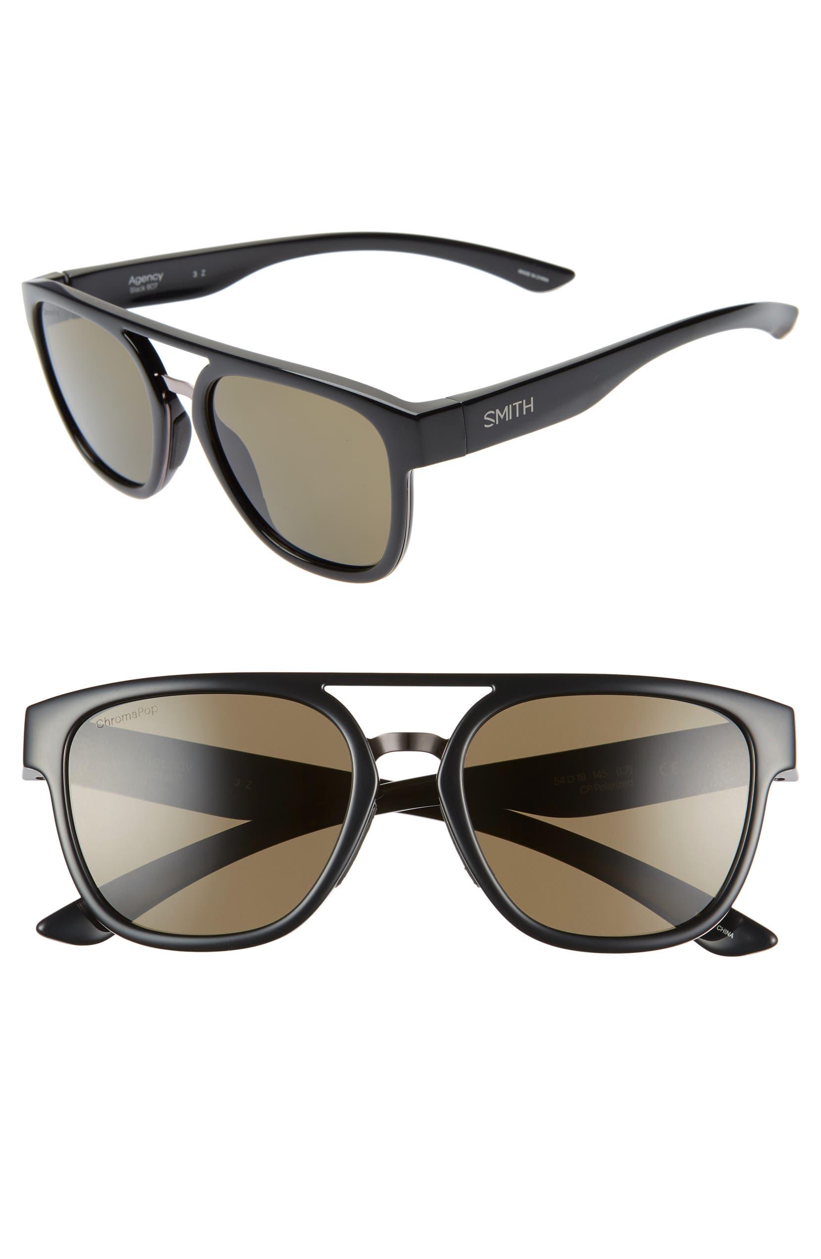 d25b1f3ce9760 Smith Agency 54mm ChromaPop™ Polarized Sunglasses
