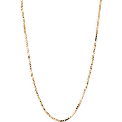 Bony Levy Flat Rolo Chain Necklace (Nordstrom Exclusive)