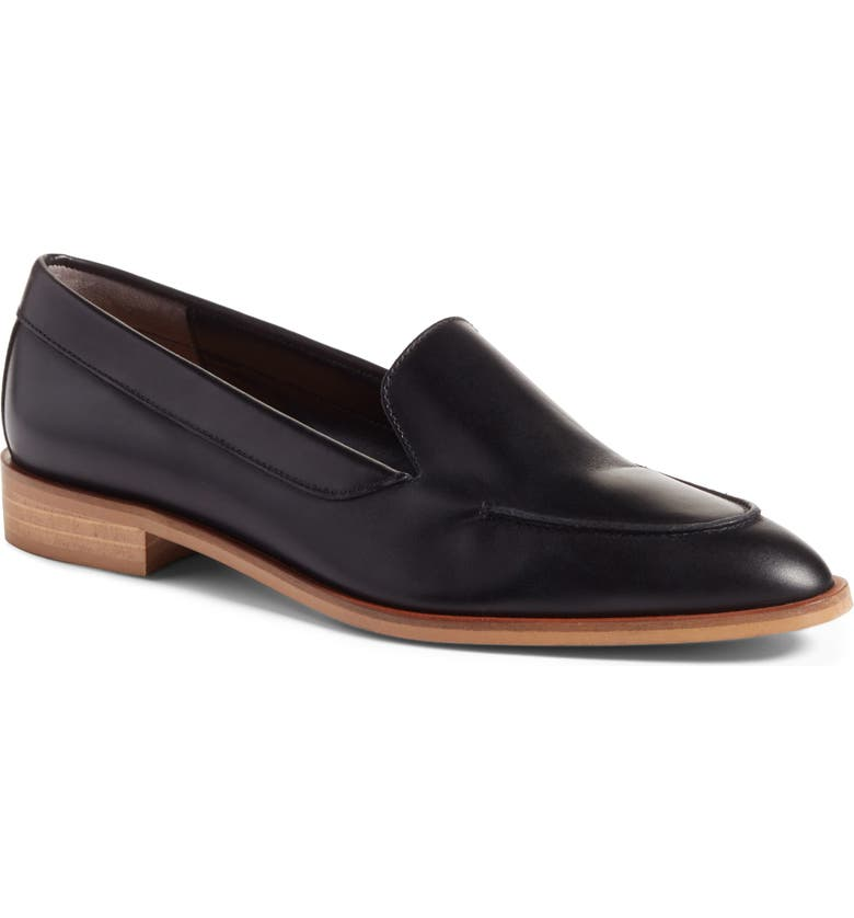 EVERLANE The Modern Loafer, Main, color, BLACK