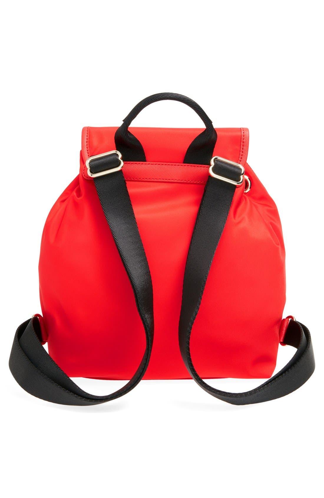,                             'molly' nylon backpack,                             Alternate thumbnail 7, color,                             600