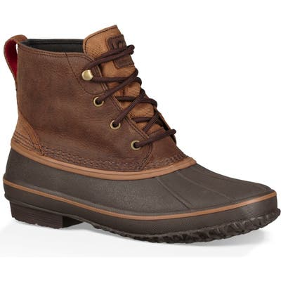 UGG Zetik Waterproof Rain Boot- Brown