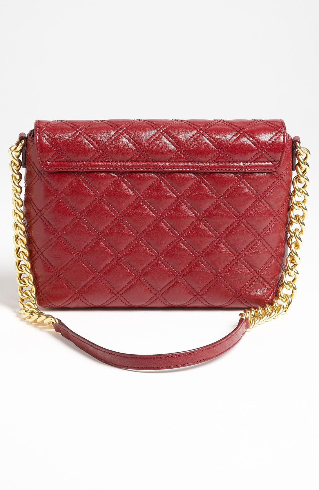 ,                             'Large Quilting Single' Leather Shoulder Bag,                             Alternate thumbnail 38, color,                             930