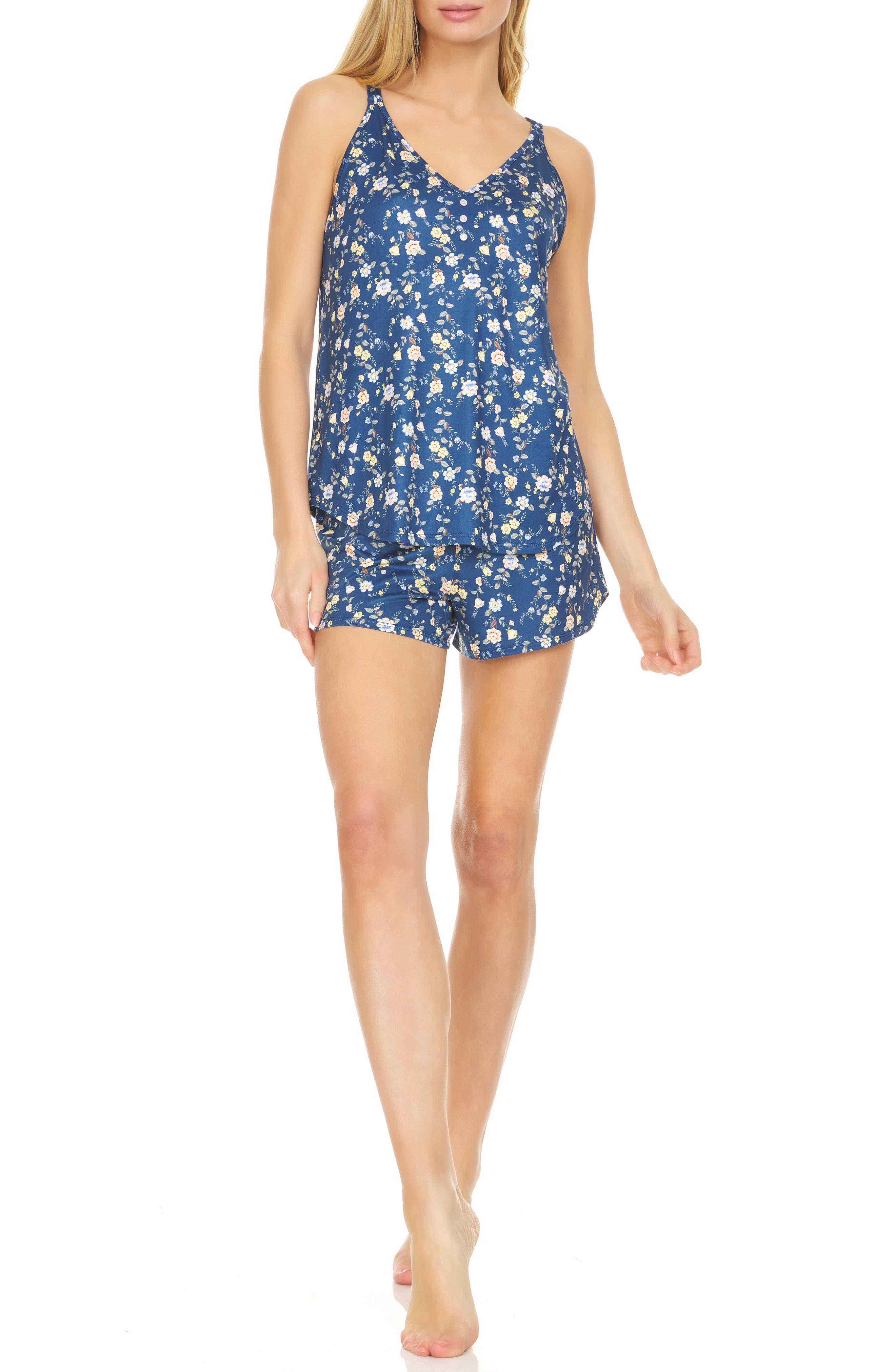 Jamie Floral Print Short Pajamas