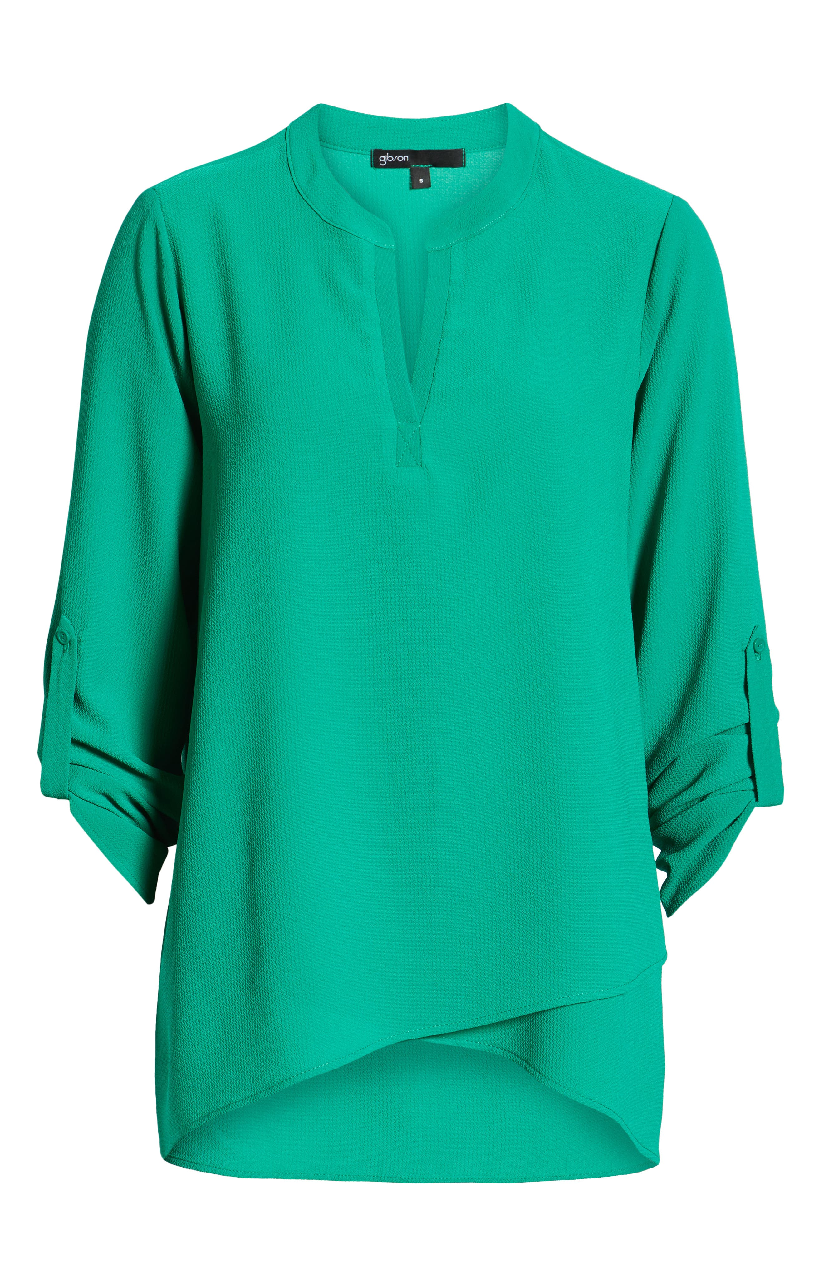 ,                             x International Women's Day Erin Cross Front Tunic Blouse,                             Alternate thumbnail 32, color,                             300