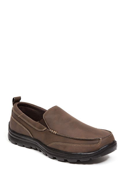Image of Deer Stags Everest Faux Leather Slip-On - Wide Width Available