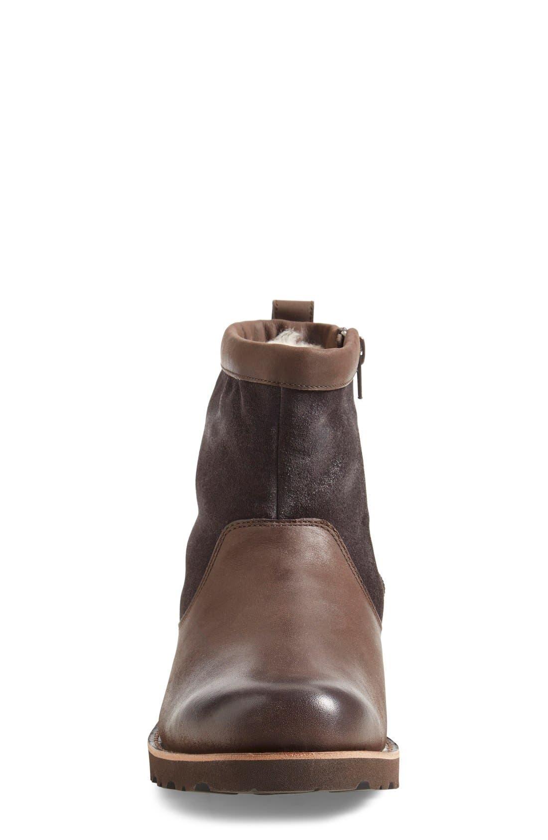 ,                             Hendren TL Waterproof Zip Boot,                             Alternate thumbnail 3, color,                             STOUT
