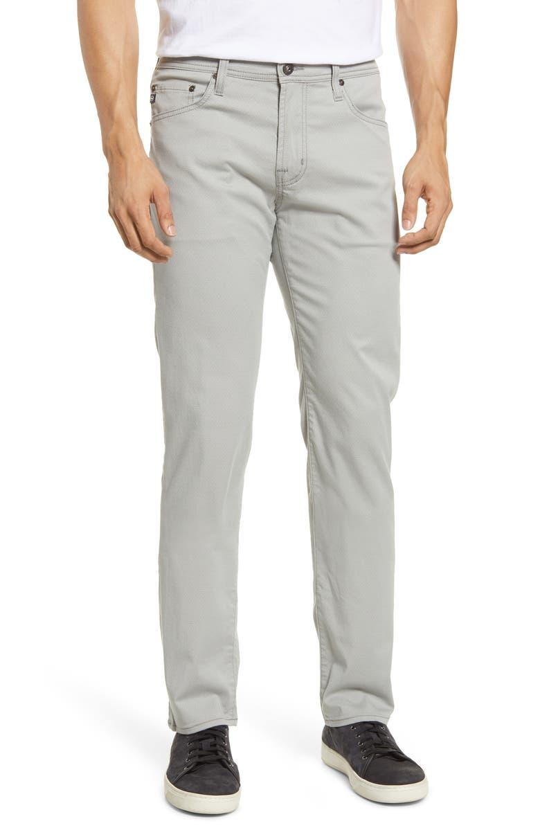 AG Tellis Slim Fit Twill Pants, Main, color, 026