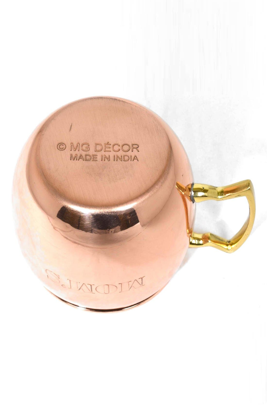 ,                             'Mom's' Copper Mug,                             Alternate thumbnail 6, color,                             220