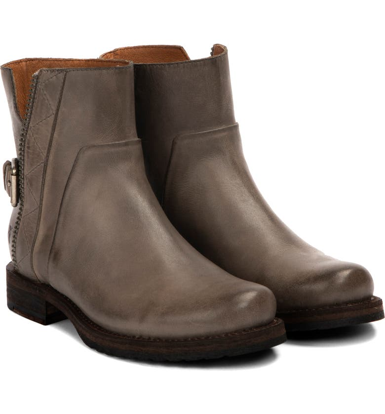 FRYE Veronica Engineer Boot, Main, color, GREY LEATHER