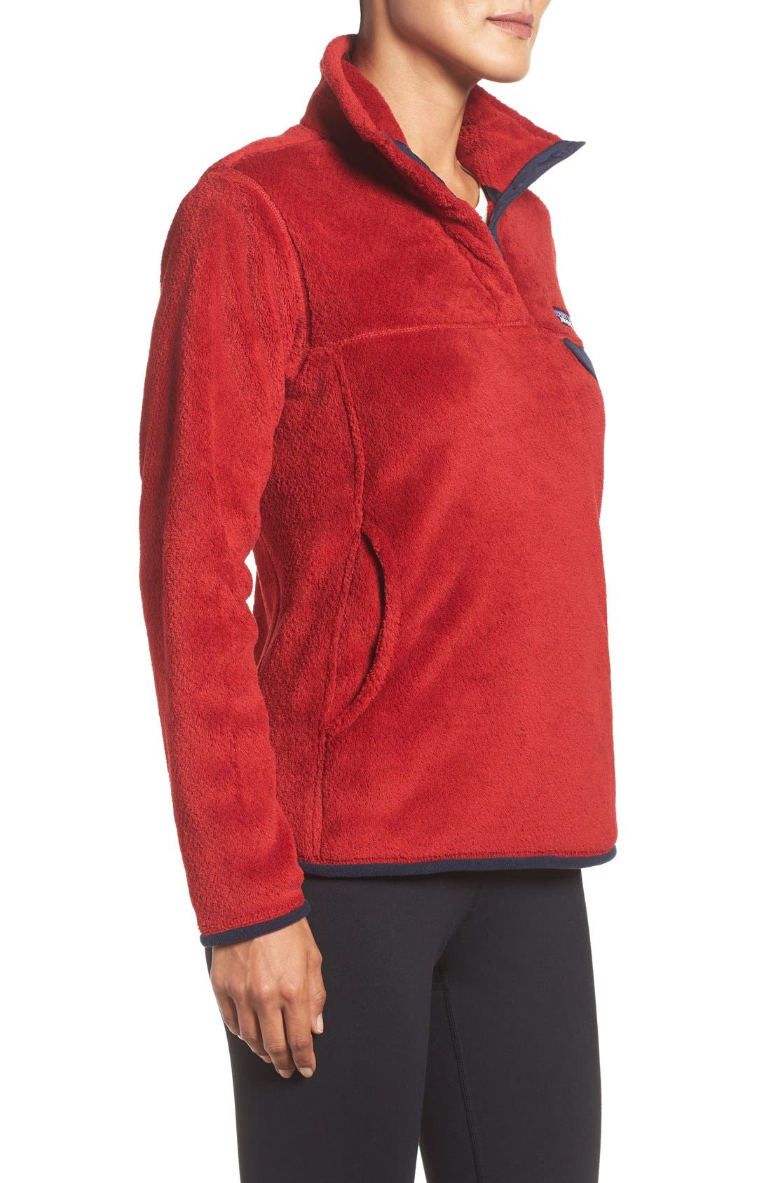 ,                             Re-Tool Snap-T<sup>®</sup> Fleece Pullover,                             Alternate thumbnail 182, color,                             606
