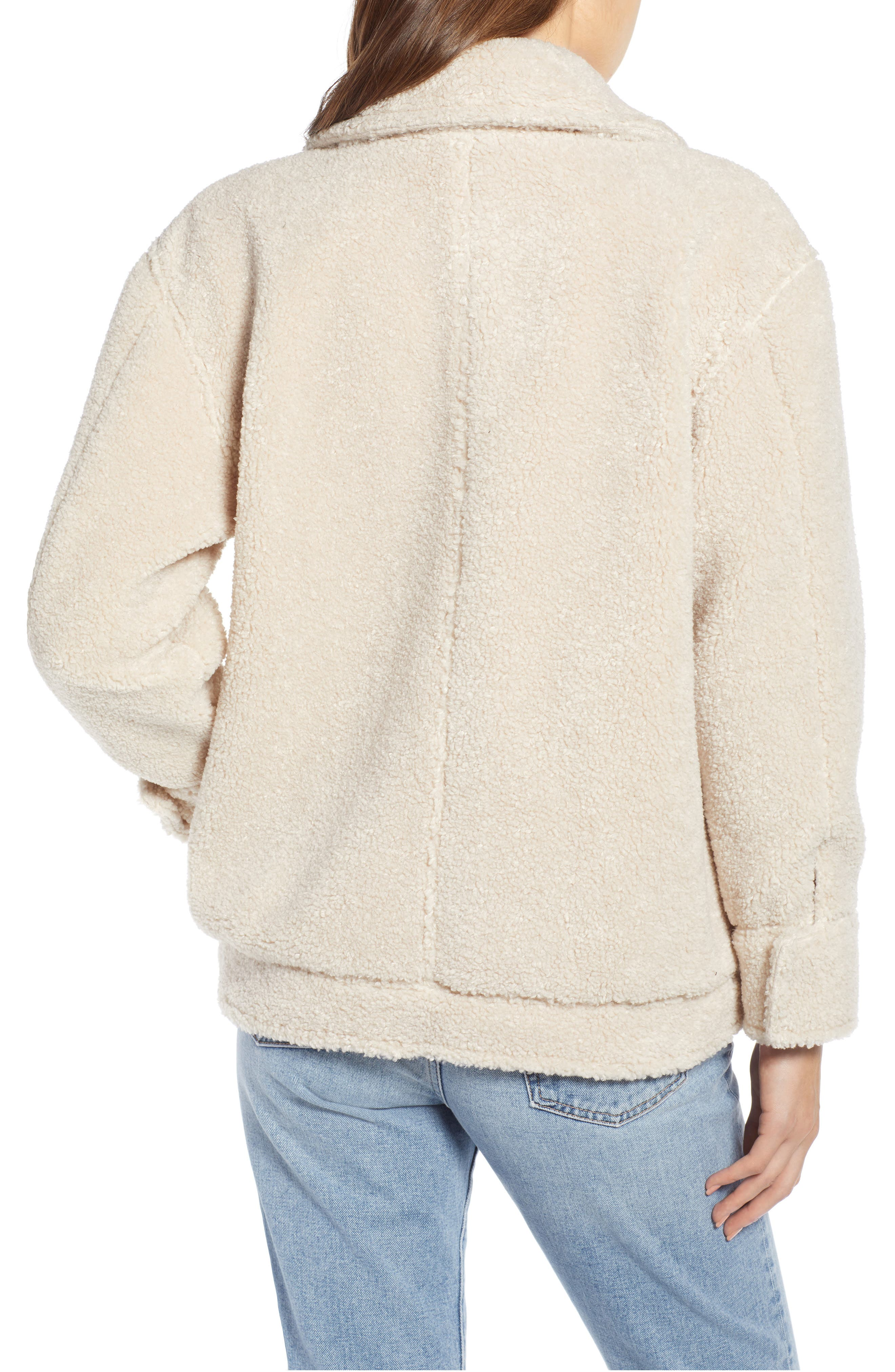 ,                             Faux Shearling Jacket,                             Alternate thumbnail 2, color,                             900