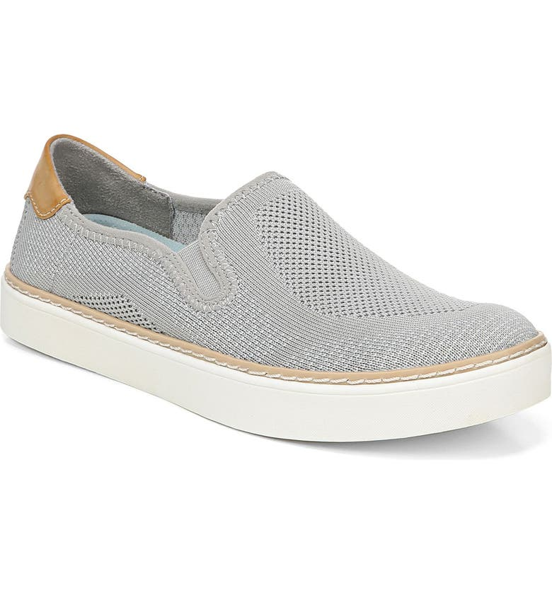 DR. SCHOLL'S Madi Slip-On Sneaker, Main, color, GREY KNIT FABRIC