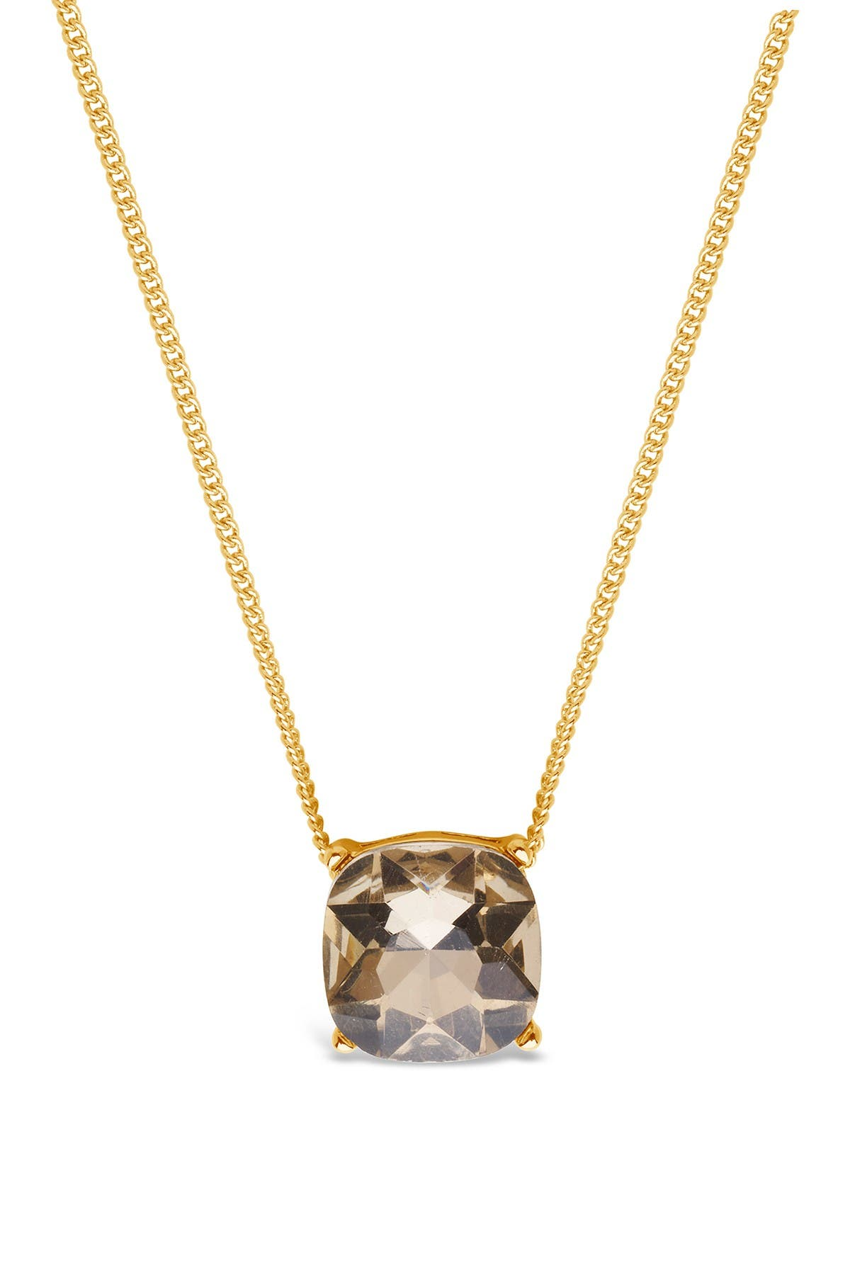 Image of Sterling Forever 14K Gold Plated Champagne Haymond Necklace