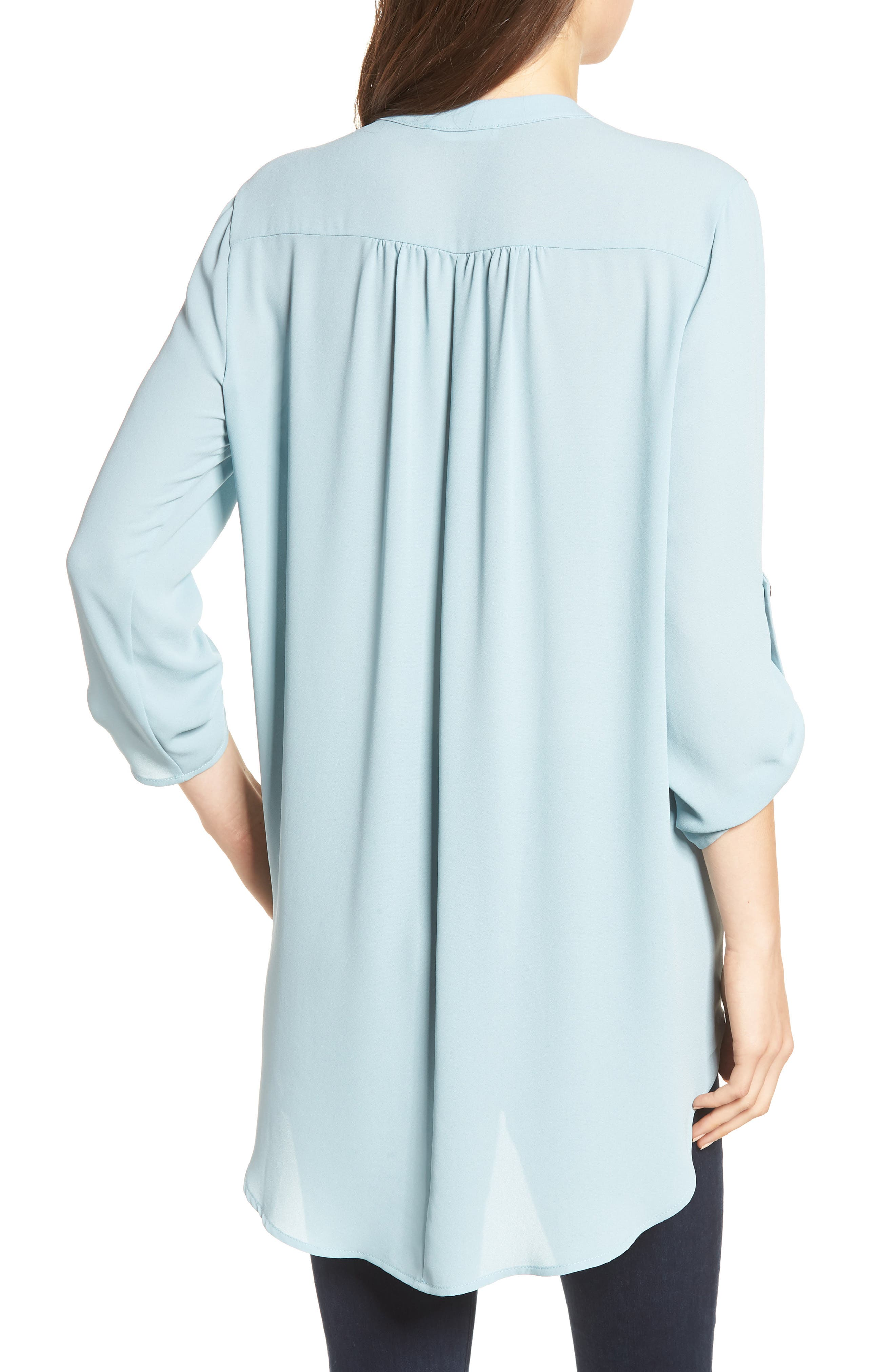 ,                             Perfect Roll Tab Sleeve Tunic,                             Alternate thumbnail 70, color,                             358