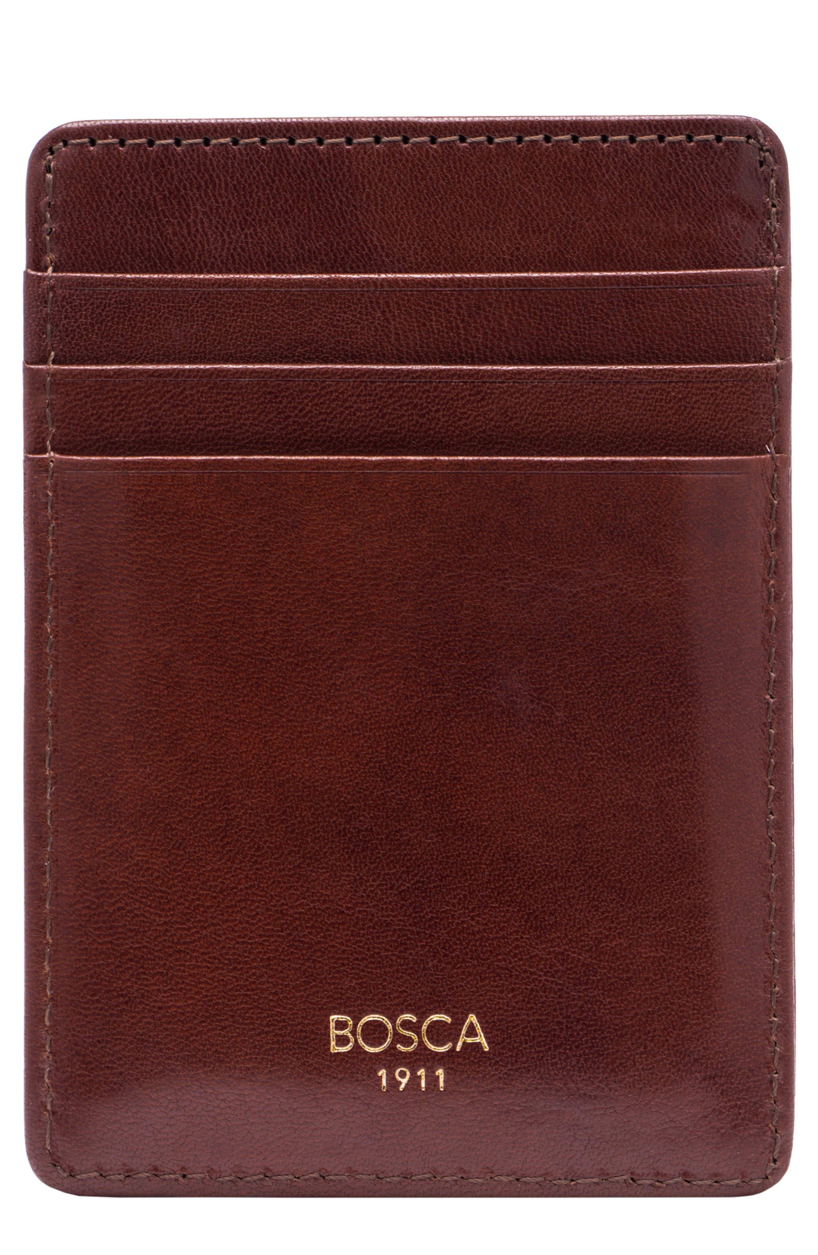 Old Leather Front Pocket Wallet