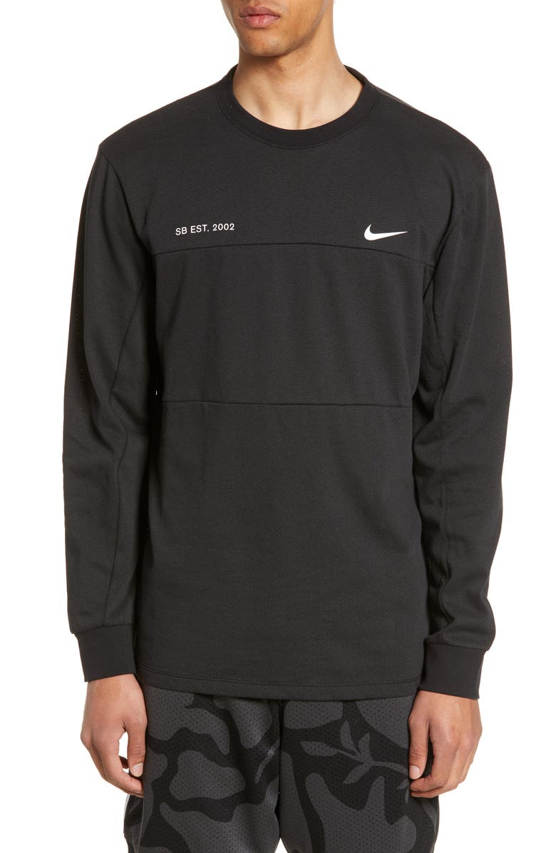 Dry Mesh Long Sleeve T Shirt by Nike Sb