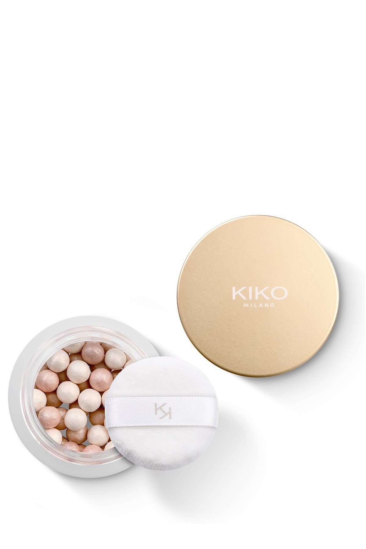 Image of Kiko Milano Mood Boost Pearls Of Light Highlighter - 02 Golden Soul