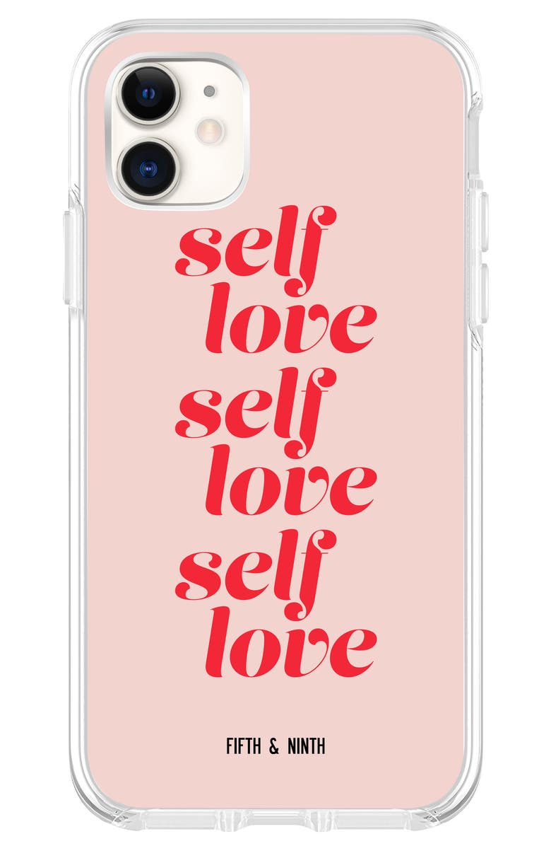 FIFTH & NINTH Self Love iPhone 11, 11 Pro & 11 Pro Max Case, Main, color, PINK