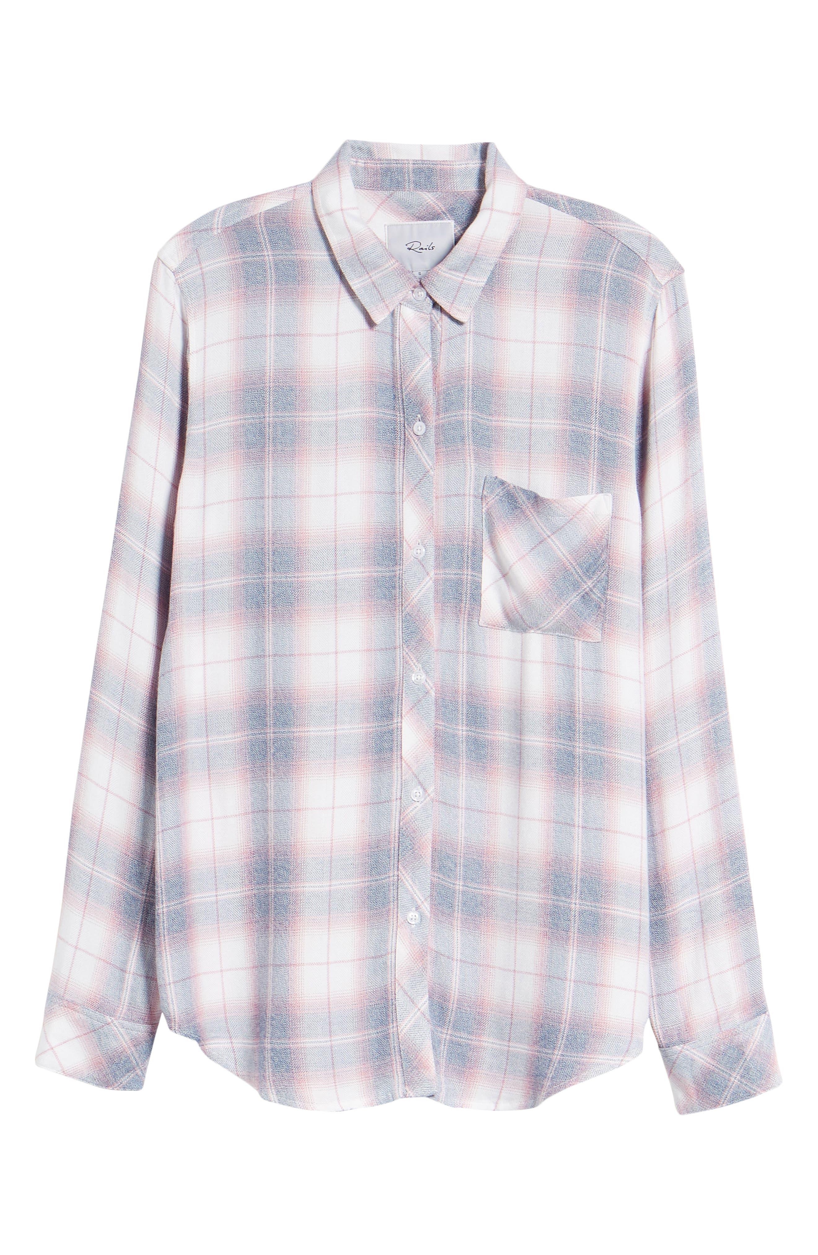 ,                             Hunter Plaid Shirt,                             Alternate thumbnail 836, color,                             439
