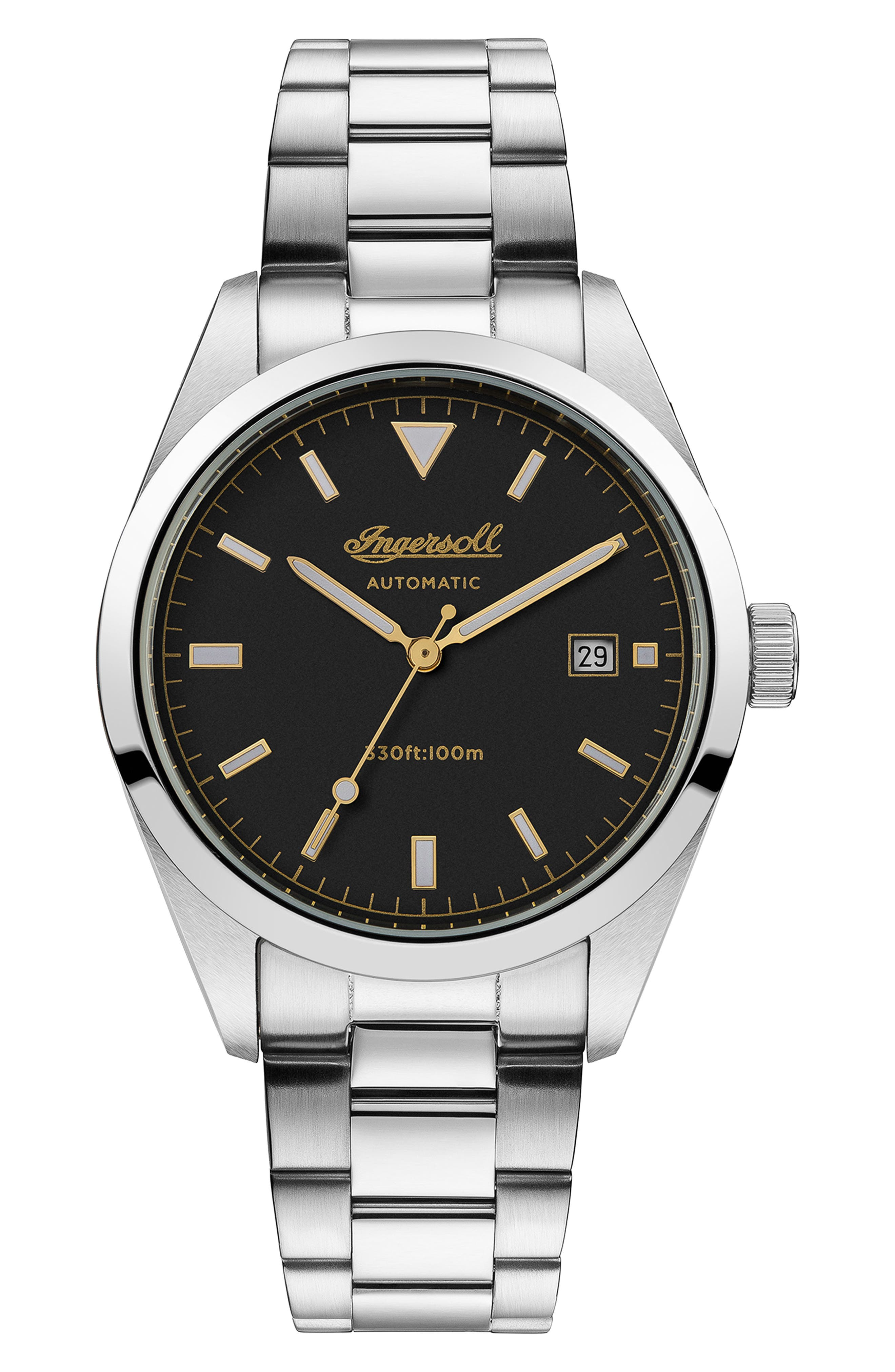 Image of INGERSOLL WATCHES Reliance Automatic Bracelet Watch, 40mm