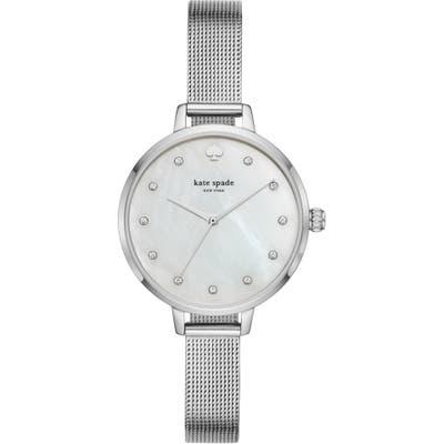 Kate Spade New York Metro Mesh Bracelet Watch,