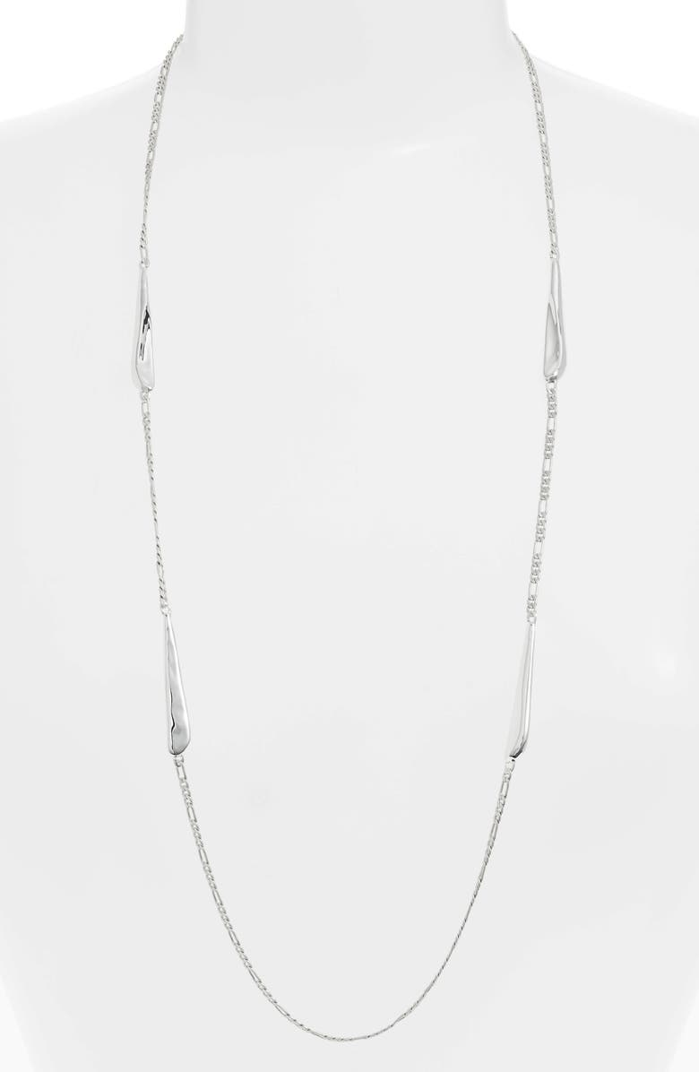 JENNY BIRD Sila Chain Necklace, Main, color, SILVER
