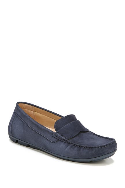 Image of Naturalizer Brynn Suede Loafer - Wide Width Available