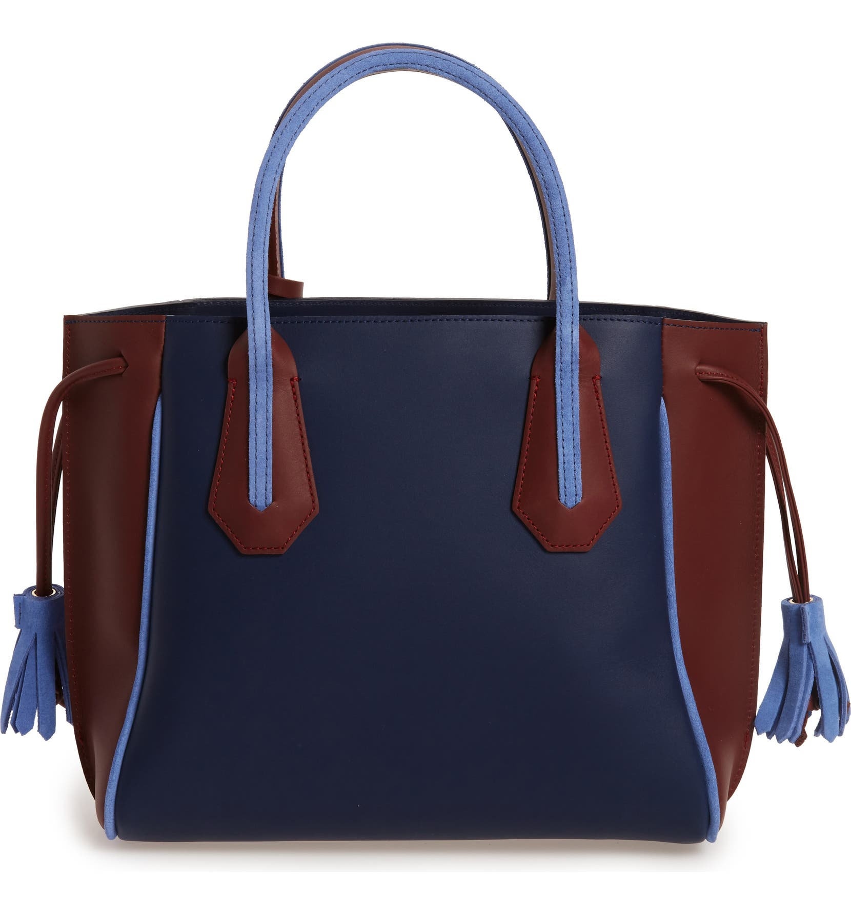 9d63ffb7f91 Longchamp Small Penelope Tri-Color Leather Tote | Nordstrom