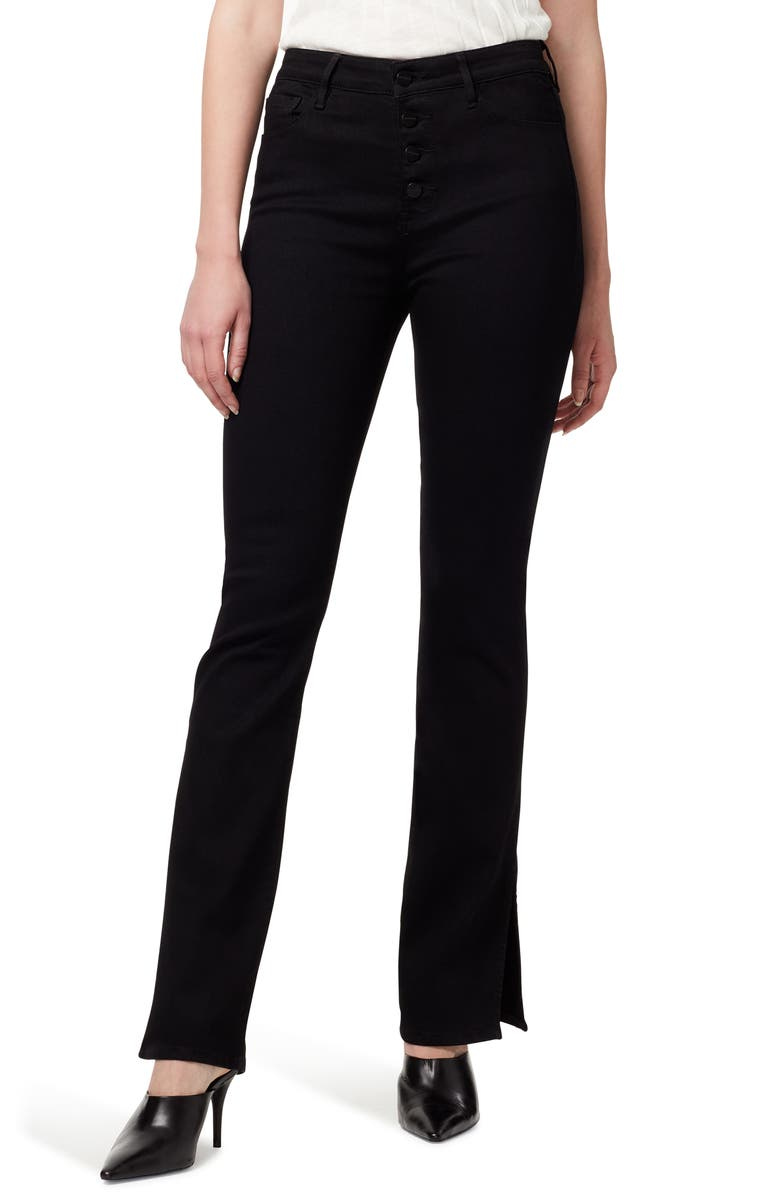 SANCTUARY Demi Boot Cut Jeans, Main, color, JET