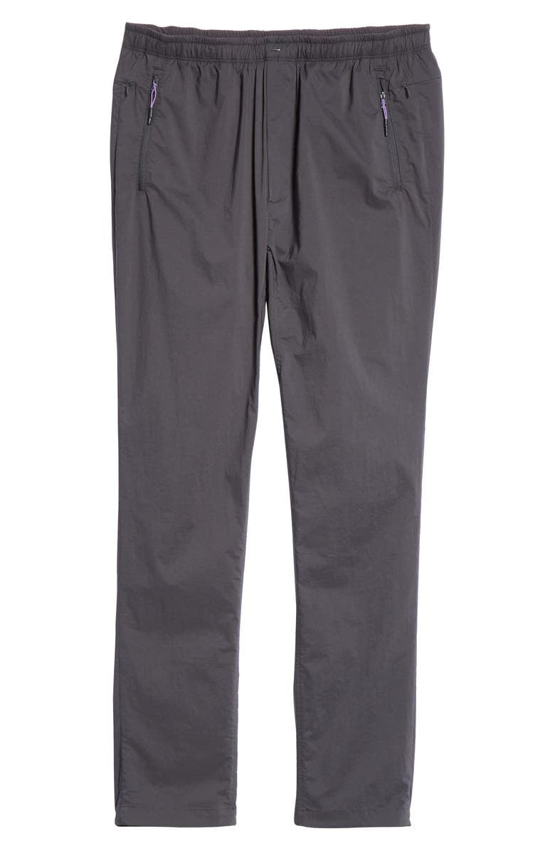 BEAMS Stretch Woven Track Pants, Main, color, CHARCOAL GREY