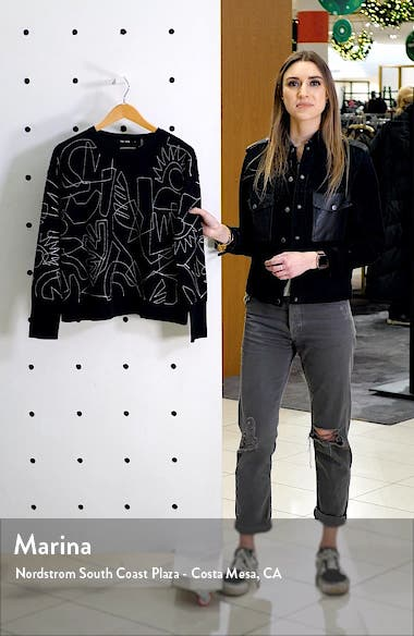 Embroidered Sweater, sales video thumbnail