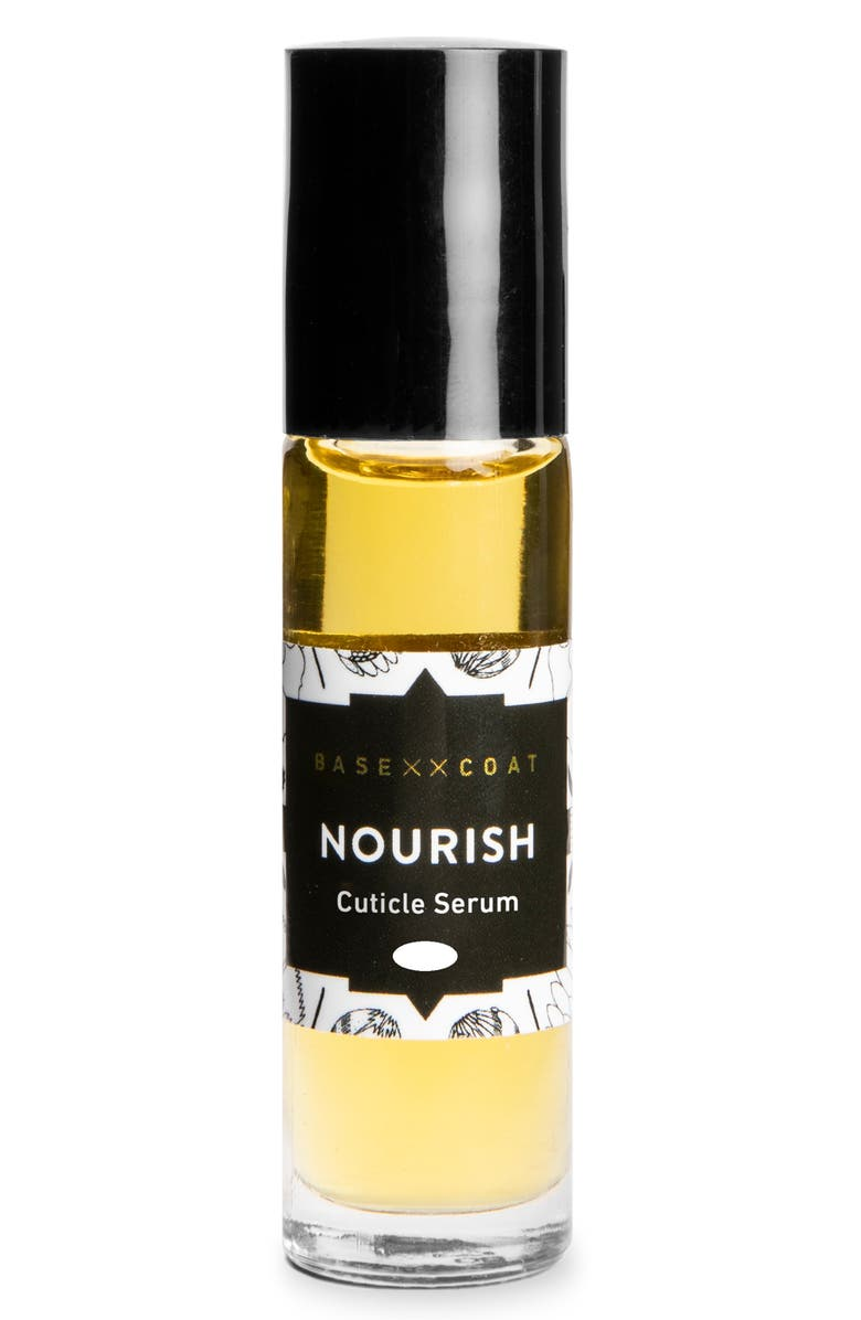 BASE COAT Lemongrass & Rosehip Cuticle Serum, Main, color, NO COLOR